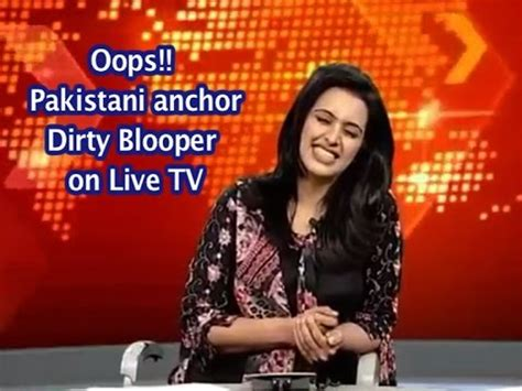 beautiful anchor blooper on live tv