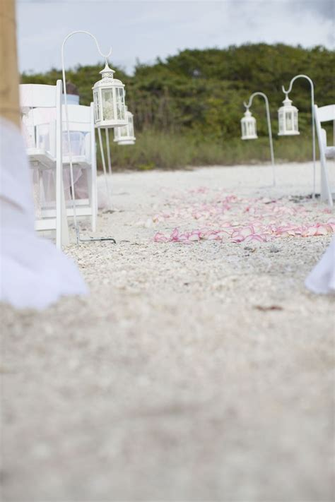 lantern aisle markers   Beach Wedding Decor   Pinterest