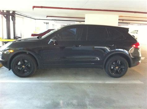 porsche cayenne blacked out blacked out 11 s rennlist discussion forums