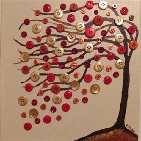button craft projects 30 creative diy fall buttons craft ideas
