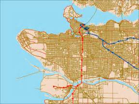 translink canada line map national portrait gallery abstract