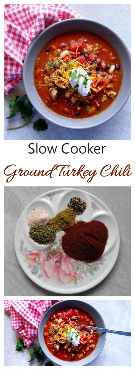 slow cooker comfort food ground turkey chili slow cooker comfort food