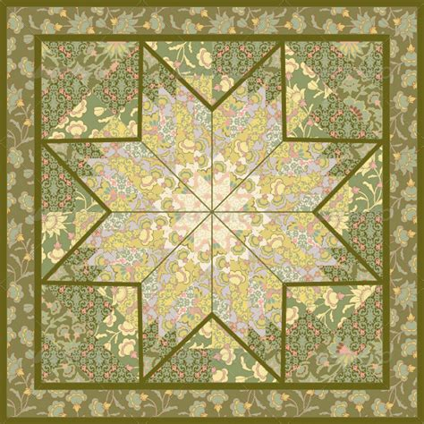 quilt pattern wallpaper quilting pattern background design with star motive