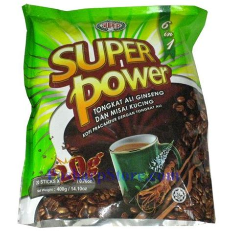 Coffee Tongkat Ali power 6 in 1 coffee with tongkat ali ginseng misai