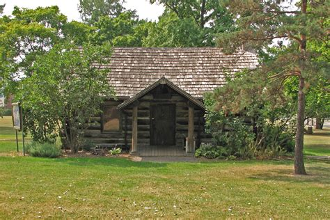 The Cabin by File Geneseo Log Cabin Jpg