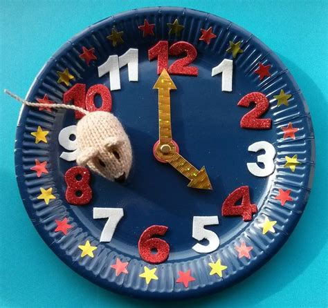 Paper Plate Clock Craft - 57 best images about my crafts on crafts