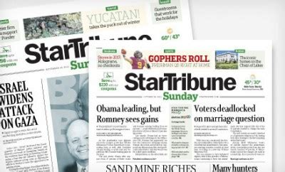 Star Tribune Gift Cards - star tribune sunday subscription deal