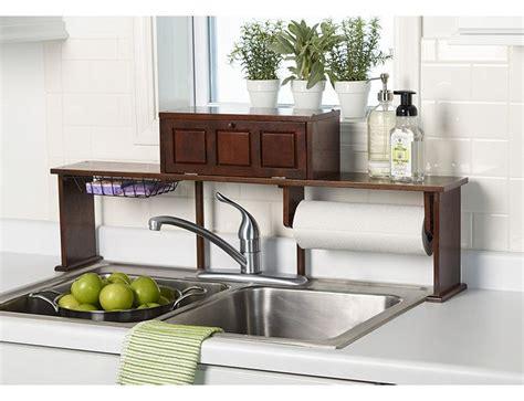 Over The Sink Organizer Shelf Storage Organization Kitchen Sink Organizer Shelf