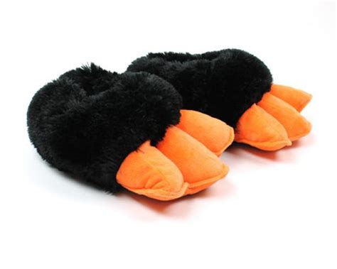penguin house shoes penguin feet slippers with sound animal slippers