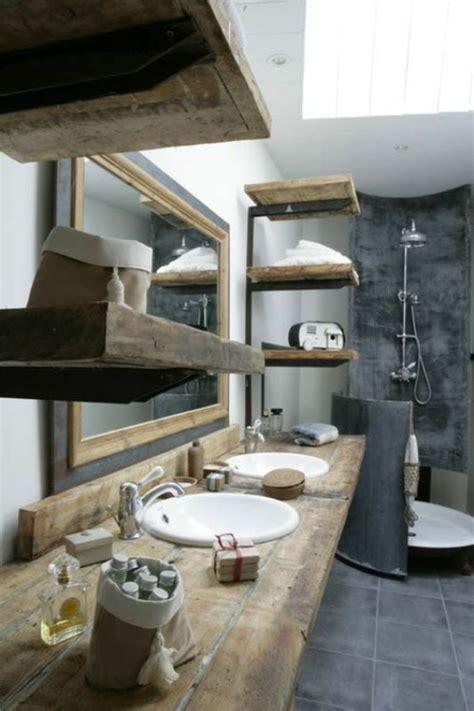 Badezimmer Regal Landhausstil by Rustikale Badm 246 Bel Ideen Das Badezimmer Im Landhausstil