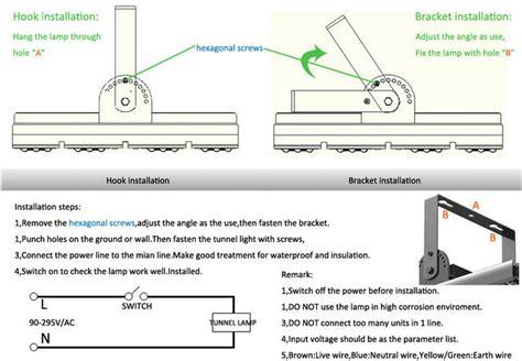 flood light wiring diagram for boat flood light frame