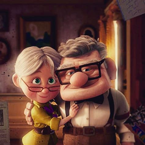 imagenes de ellie up grandparents recreated carl and ellie s theme from pixar s up