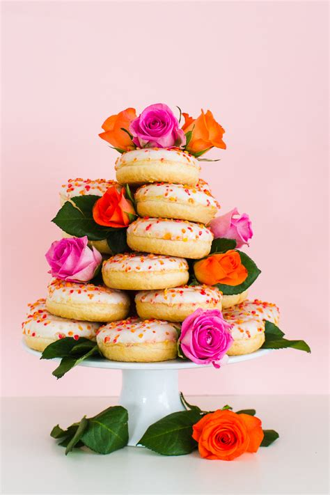 How To Make Wedding Cake by How To Make Your Own Donut Wedding Cake Stand Bespoke