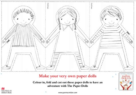 How To Make Paper Dolls At Home - make donaldson s paper dolls at home