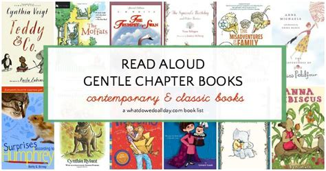 gentle books 25 gentle chapter books to read aloud to