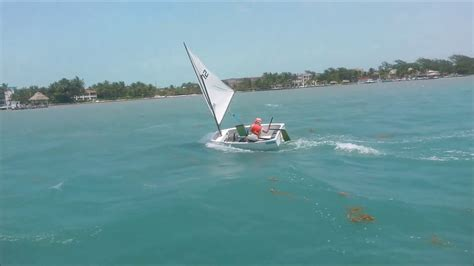 sailing boat lessons optimist sailing lessons youtube