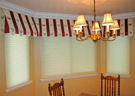 awning valance awning valance with pleated shades traditional dining
