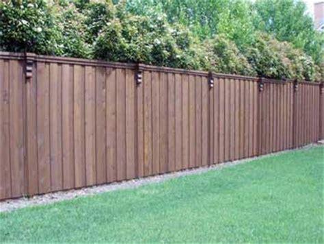 backyard privacy fence seaman s lawn landscape landscaping lawn care