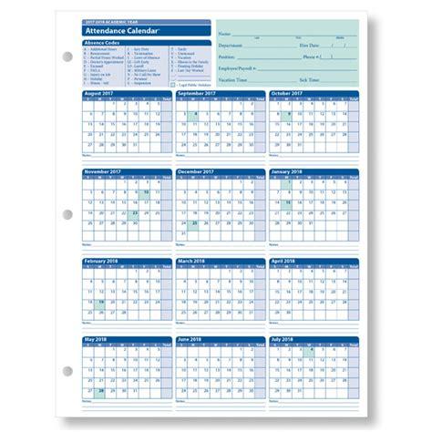 Employee Attendance Sheet Excel 2018 Tracker System Calendar Office Employee Absence Schedule Template
