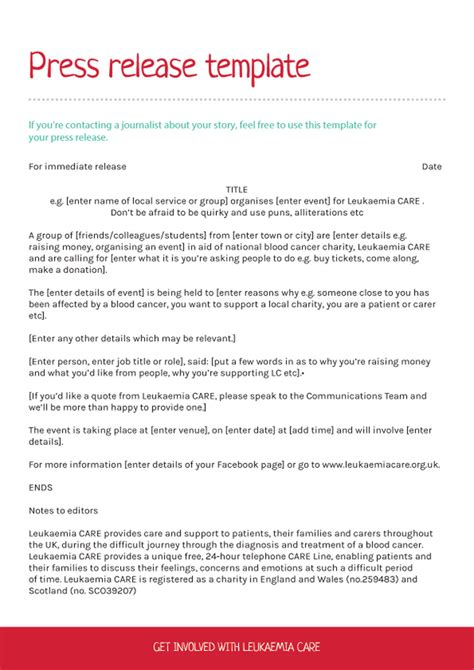 press release format template 46 press release format templates exles sles