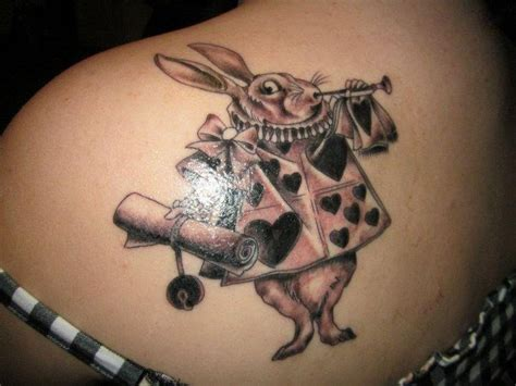 white rabbit tattoo designs in white rabbit tattoos