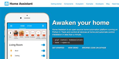 home assistant my favorite home automation platform