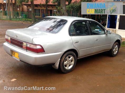 Toyota Corolla Sedan 1993 Used Toyota Luxury Sedan 1993 1993 Toyota Corolla Rwanda
