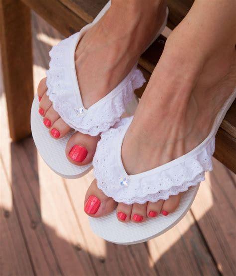 Sandal Jepit Cantik Warna Pink Flip Flop Murah daripada buat ganjal pintu doang 12 kreasi menyulap