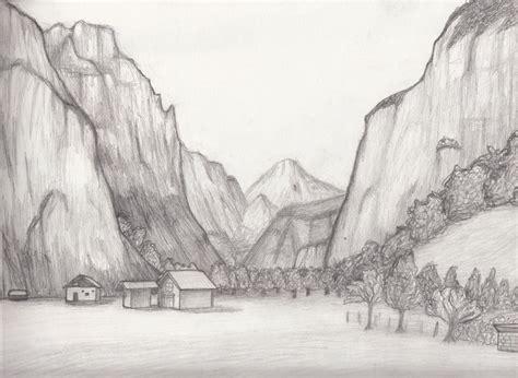Landscape Sketches Landscape Sketch 9 By Whimsy Floof On Deviantart