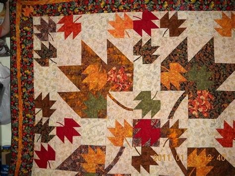 Maple Leaf Quilts by Wip Maple Leaf Quilt