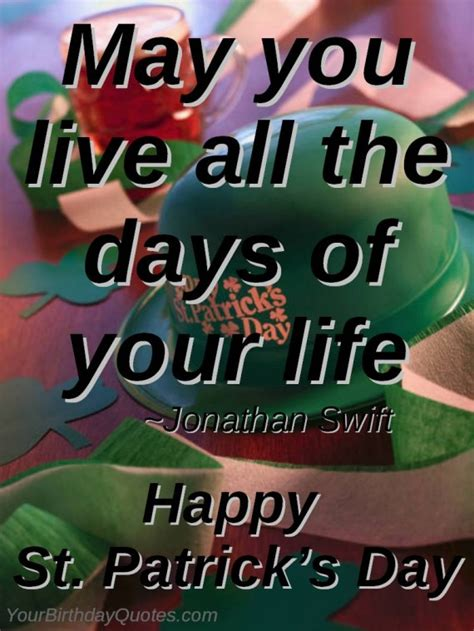 St Day Birthday Quotes St Patrick Day Quotes Toasts 9 Yourbirthdayquotes Com