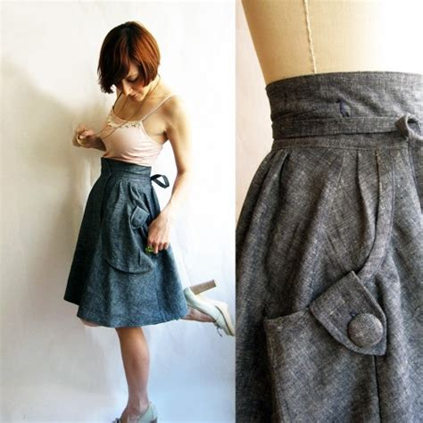Paperbag Bridesmaid 1 maydae etsy picks denim skirts