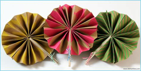 How To Make A Paper Fan For - diy paper fans mar fans lighting