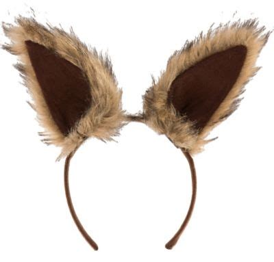 Decorating Games For Adults oversized brown squirrel ears deluxe party city