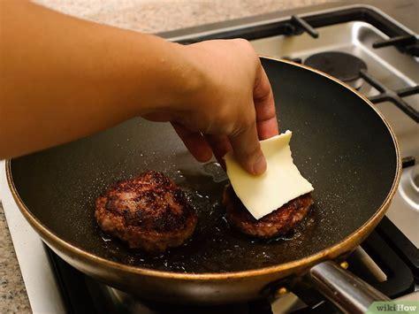 cucinare hamburger in padella come cuocere un hamburger in padella 8 passaggi