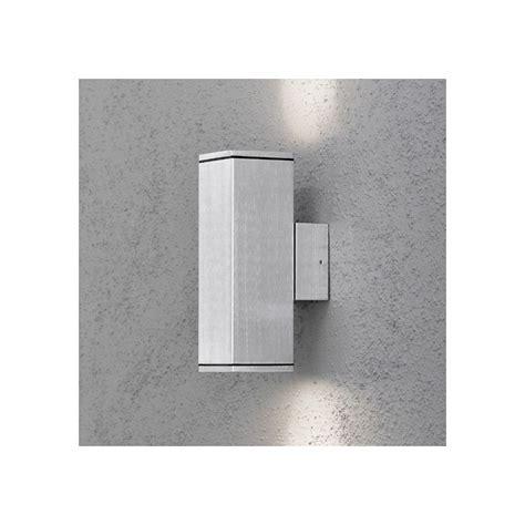 applique cubo applique exterieur cubo gris clair millumine