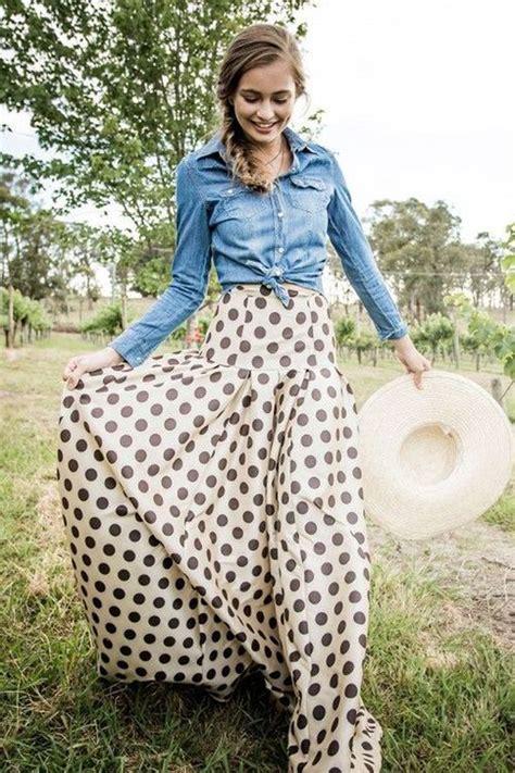 how to wear a polka dot skirt style advisor