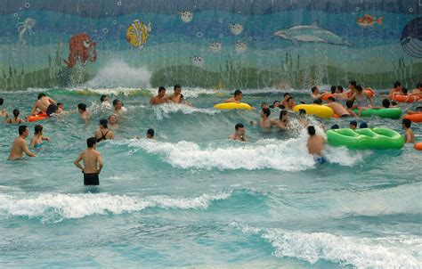 Mesin Kolam Renang cina kolam renang gelombang air park gelombang mesin untuk
