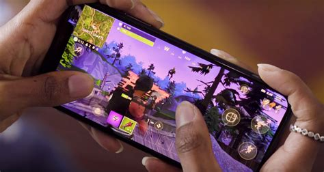 fortnite for mobile fortnite mobile gameplay for android ios right here