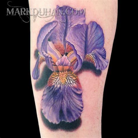tattoo eye iris bearded iris by amduhan on deviantart