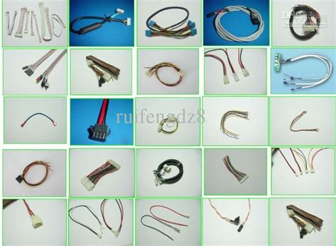 cable assembly wire harness sata terminal and housing