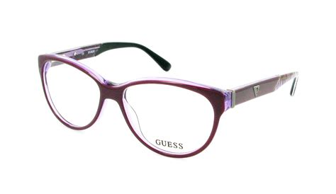 Guess Where This Is From 14 by Lunettes De Vue Guess Gu 2311 Pur 54 14 Femme Violet Ovale