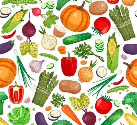 vegetables pattern wallpaper vegetable organic food seamless back patterns on