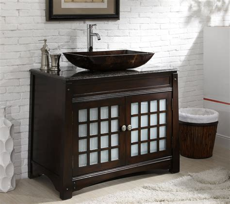 vanity cabinet for vessel sink vanity with vessel sink cabinet home ideas collection