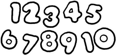 imagenes para colorear numeros los numeros dibujos para colorear ciclo escolar