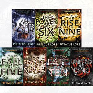 7 Book Series I by Lorien Legacies Series 7 Books Collection Set By Pittacus