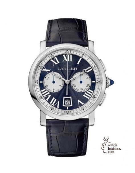 Cartier 002 Semi cartier rotonde de cartier chronograph cartier launches