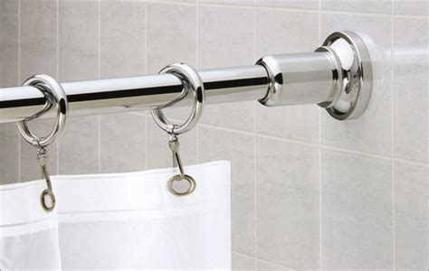 odd shaped shower curtain rods design trends categories scary diy homemade halloween