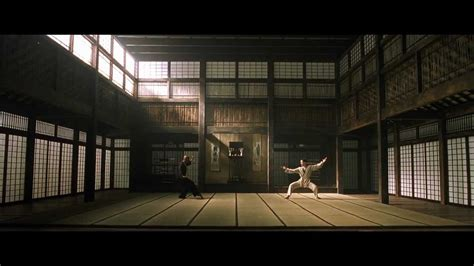 design arts seminars the matrix 1999 kung fu dojo fight full 1080p hd
