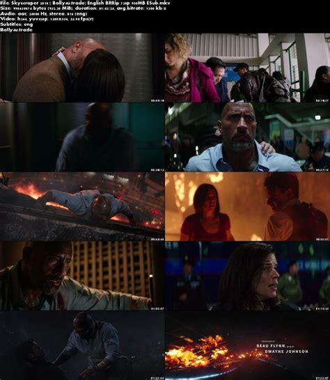 skyscraper torrent skyscraper 2018 brrip 950mb full english movie download